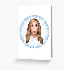 Comedian Amy Schumer Greeting Card