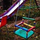 Evening on playground 1 by Andrey Kudinov