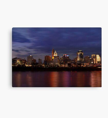 Sky Line Cincinnati Canvas Print