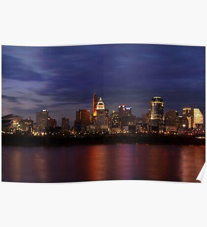 Sky Line Cincinnati Poster