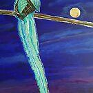 Moon Blue by RachelNatalie