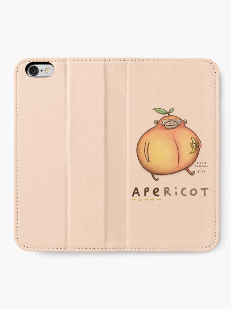 Alternate view of Apericot iPhone Wallet