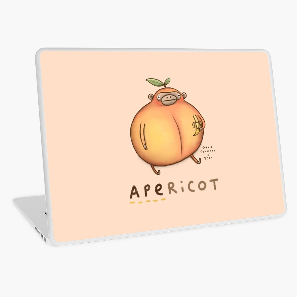 Apericot Laptop Skin