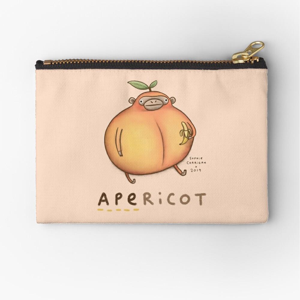 Apericot Zipper Pouch