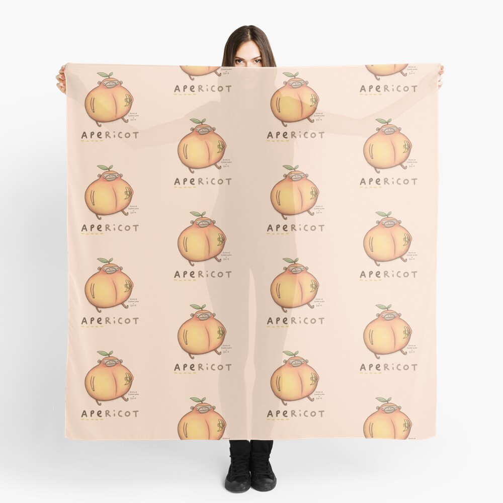 Apericot Scarf