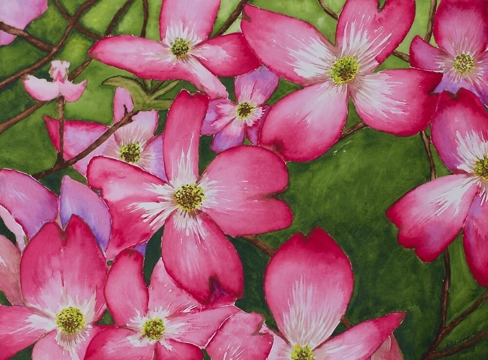 Pink Dogwood by Julie Myers
