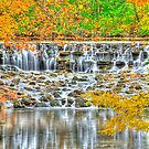 Sharon Woods the Falls by Jerry Schlagheck