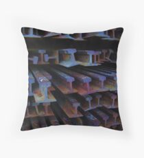 Rails #5 Throw Pillow