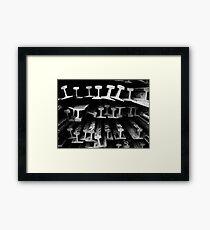 Rails #4 Framed Print