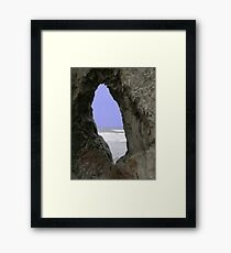 A Window of the World Framed Print