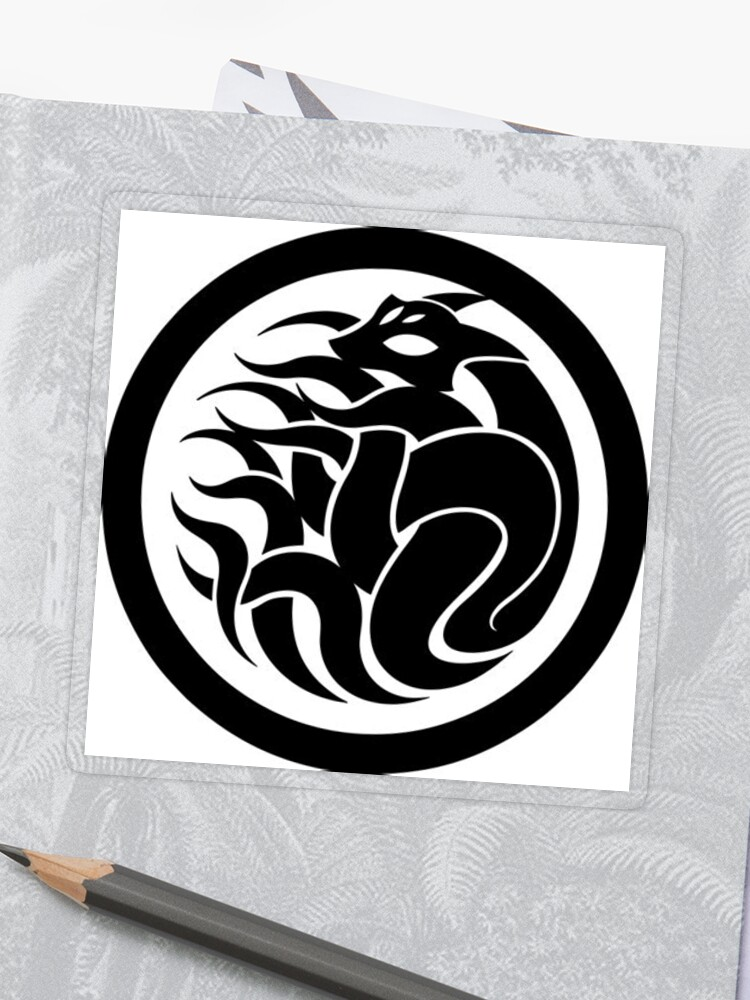 SCP Nine-Tailed Fox Vector Logo | Sticker