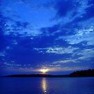 blue zen by Erika Snell