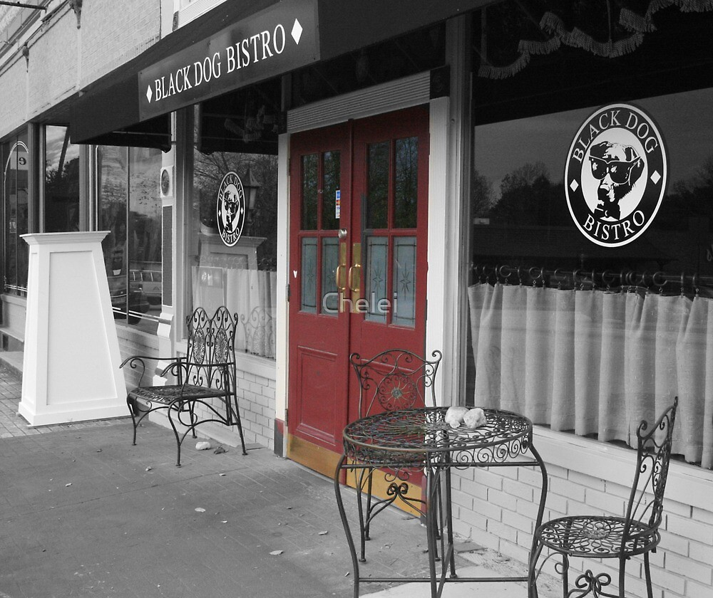 The Black Dog Bistro by Chelei