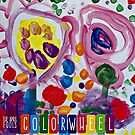 """Album Art: The April Fools """"Colorwheel"""" Ruby Drake all of five years old is the artist of this wonderful cover.  by BBWMERCHSTORE"""