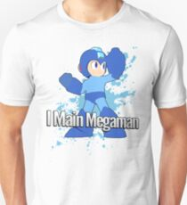 I Main Megaman - Super Smash Bros. T-Shirt