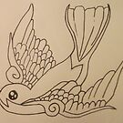 A Swallow by lollapoppy