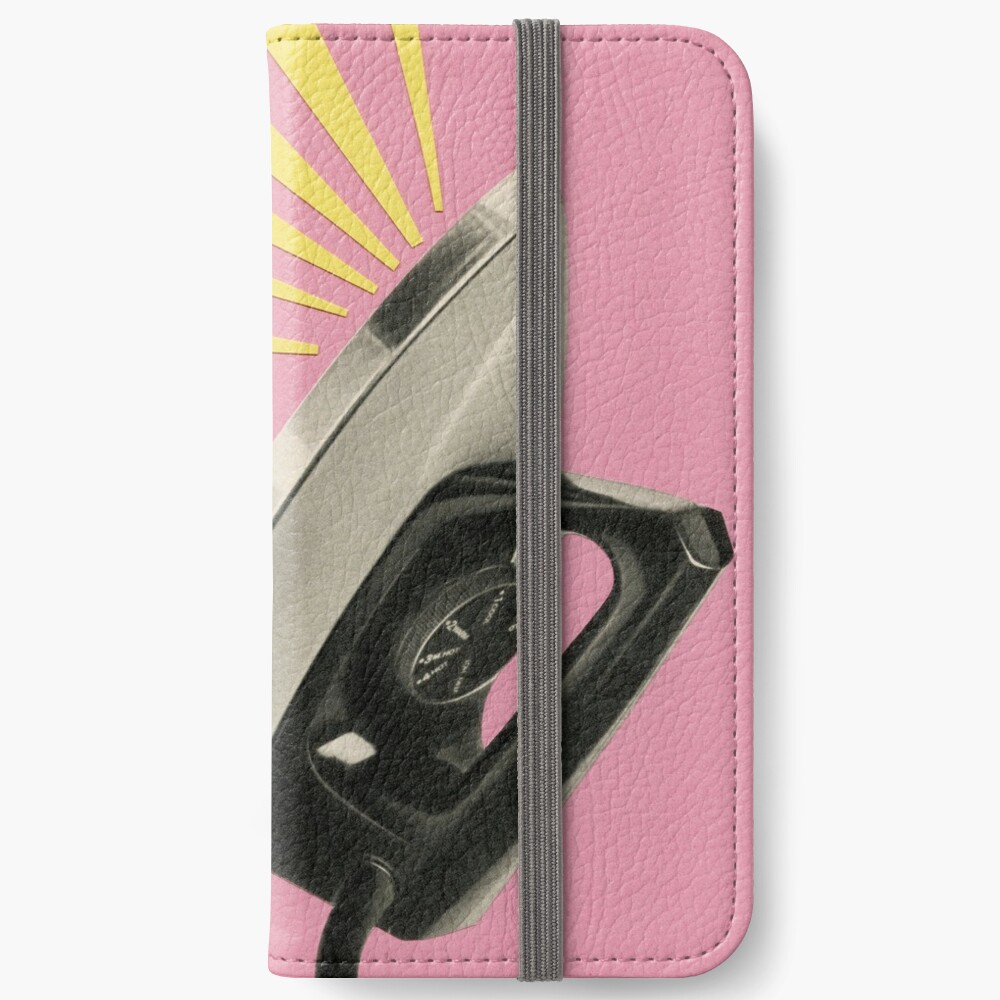 The Art of Ironing iPhone Wallet