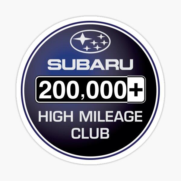 Subaru High Mileage Club - 200,000+ Miles Sticker