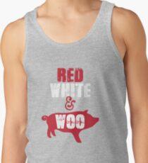 Arkansas Razorbacks Red, White & Woo T-Shirt