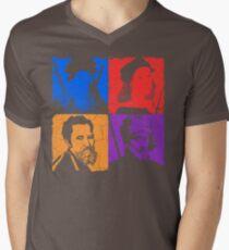 Renaissance Ninjas Men's V-Neck T-Shirt