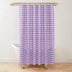 Orchestra Pastel Shower Curtain