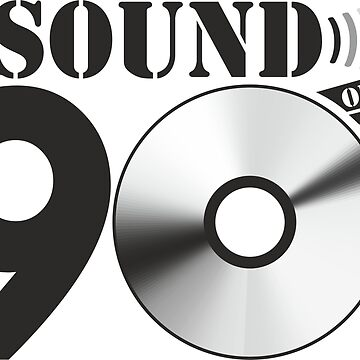 Sound of the 90s Logo by adart