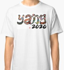 Yang 2020 Chinese Brush Art Work Classic T-Shirt