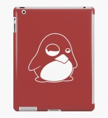 TUX Penguin in a bad mood, LINUX  iPad Case/Skin