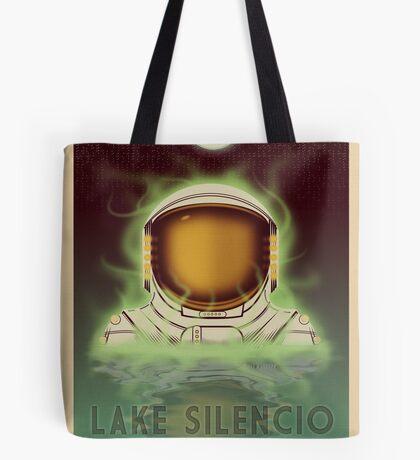 Travel To...  Lake Silencio Tote Bag