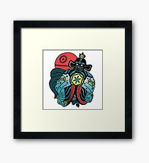 BIG TROUBLE IN LITTLE EMPIRE Framed Print
