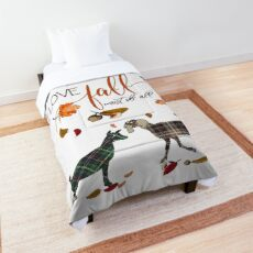 Goat Lovers - I Love Fall Most of All  Comforter