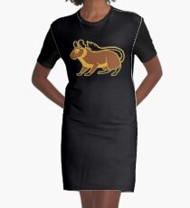 Degu Graphic T-Shirt Dress