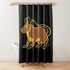 Degu Shower Curtain
