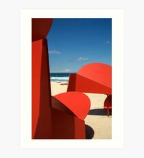 Sunburn Art Print