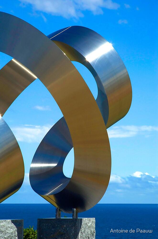 Chrome spirals by Antoine de Paauw