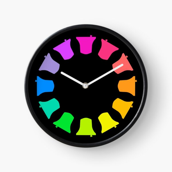 Bell Ringing - RAINBOW BELLS - Circle Clock