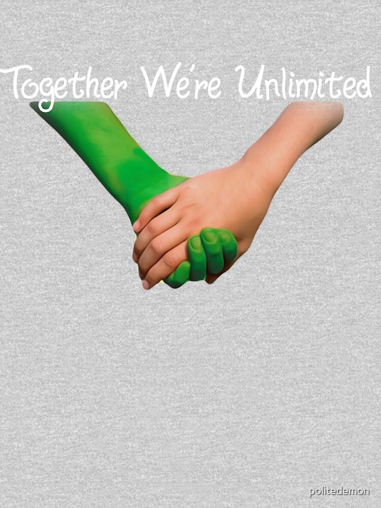 Juntos estamos ilimitados de politedemon