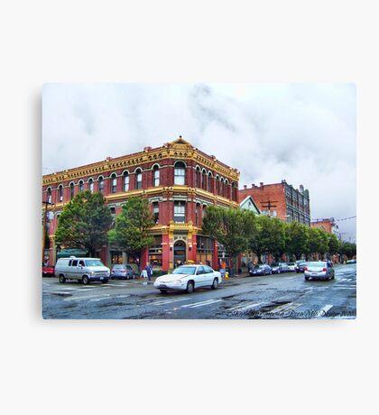 James - Hastings Building Canvas Print
