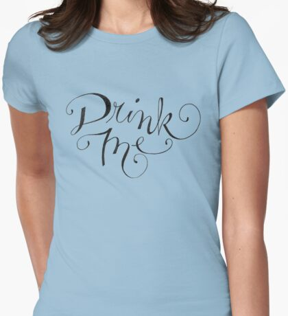 Drink Me Typography T-Shirt