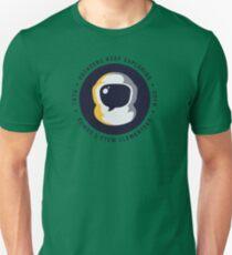 Voyager Helmet Design Slim Fit T-Shirt