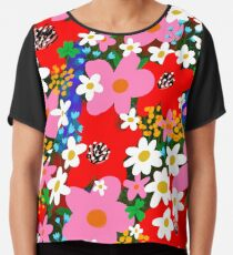 Flower Power! Chiffon Top
