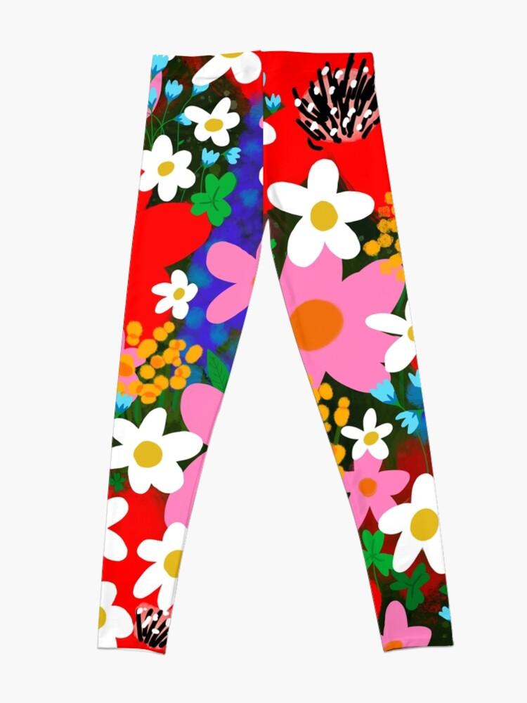 Alternate view of Flower Power! Leggings