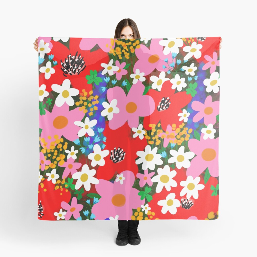 Flower Power! Scarf