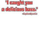 """""""I caught you a delicious bass."""" - Napoleon Dynamite by SynthOverlord"""