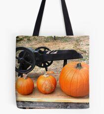 Orange Pumpkins - Farm Oak Glen, CA Tote Bag
