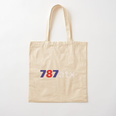 787atx Cotton Tote Bag