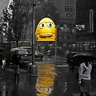 Gloomy, Rainy Day, Manhattan by Hicksy