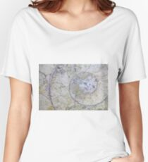 Section through an ammonite Women's Relaxed Fit T-Shirt