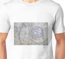 Section through an ammonite Unisex T-Shirt