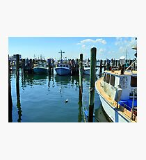 Lobster Boats at Point Judith, RI [4] Photographic Print